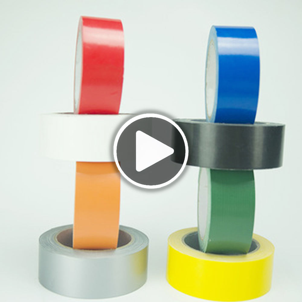 Strong heat resistant hot melt adhesive duct cloth tape manufacturer