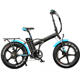 fat type 251 - 350w electric moped sepeda listrik MTB 20inch folding electric snow bike for adult in winter electric bicycle