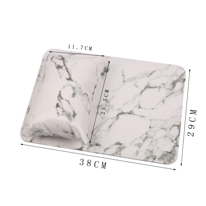 Professional Marble Pattern Nail Art Arm Rest Nail Hand Pillow hand pillow for manicure