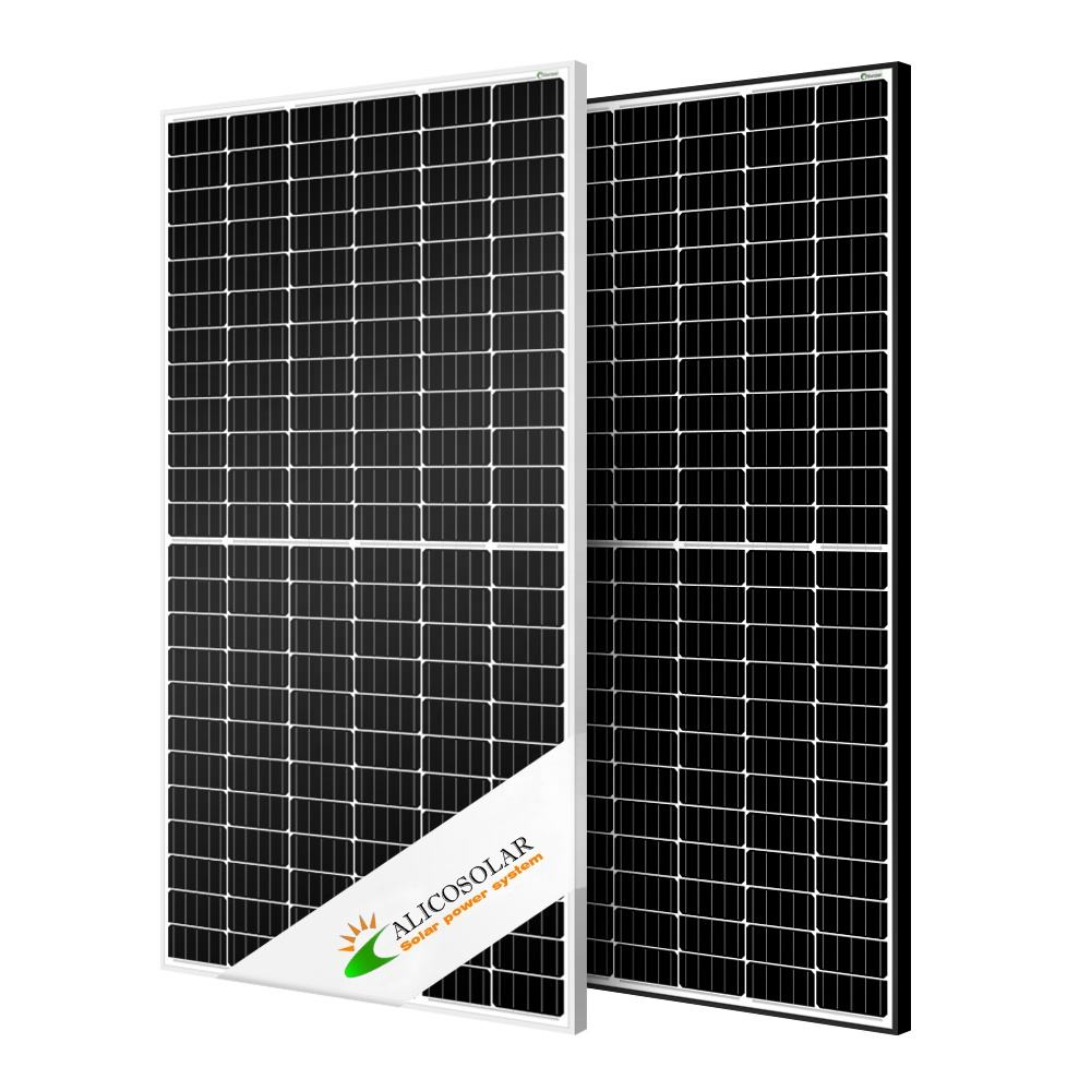 6 Hot sale 2020 most popular mono half cell 400w solar panels for home use