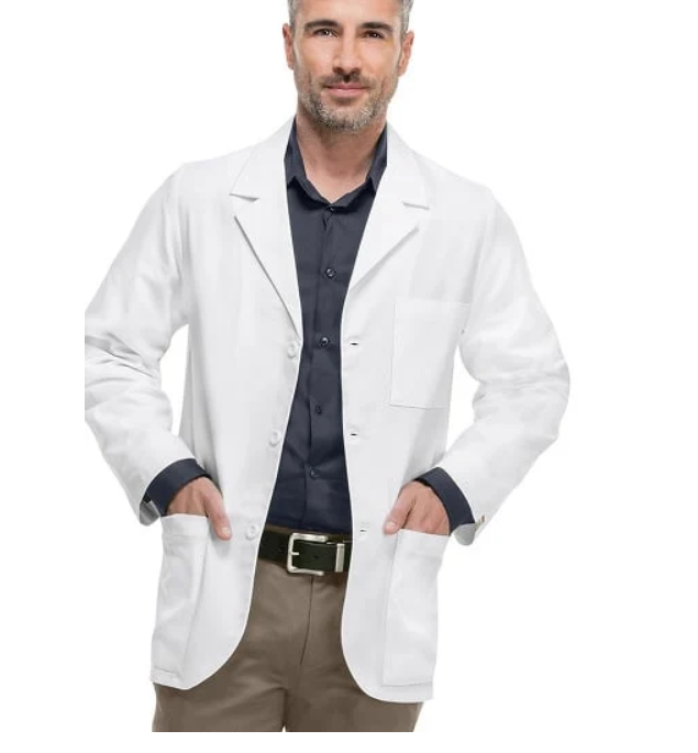 Custom MadeโรงพยาบาลCoat Mens Consultation Lab Coat