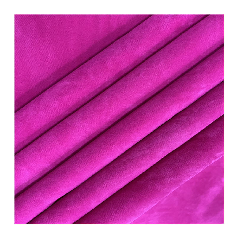 100% cotton flocking suede flocking fabric for shoes packing