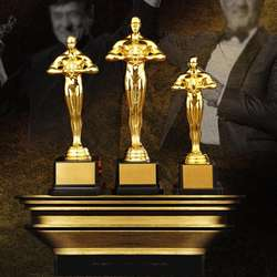Gold Award Trophy Gold Plated Small Gold Statue For Trophy Awards And Party Celebrations Award Ceremony