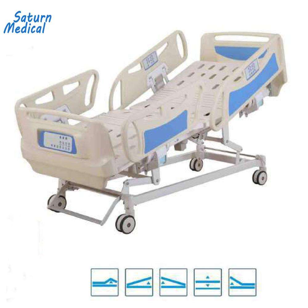 Top quality 5 five functions electric hospital bed