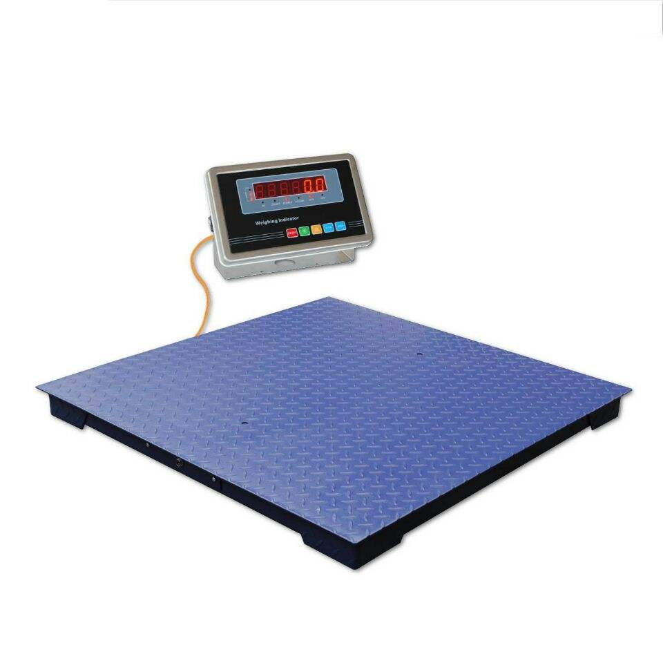 5000kg industrial strong low profile platform scale