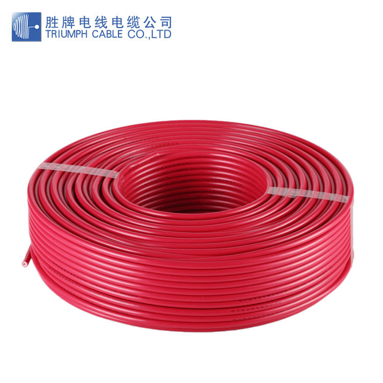 PVC Insulated Single Core house wiring electric cable Copper Conductor and Hook Up Wire