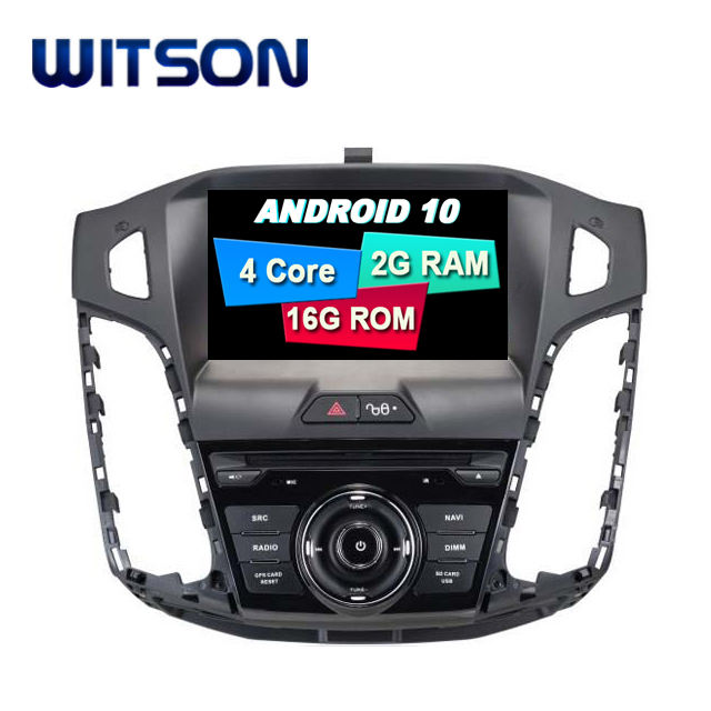 WITSON Android 10.0 Car Audio System Multimedia For FORD FOCUS 2012 DVD Car Player