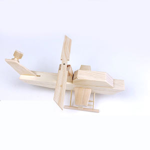 2020 DIY retro children learning wood toy production resources natural educational wooden toys for kids