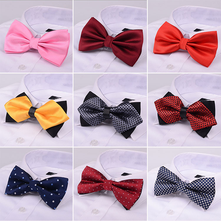 Male Dress Shirt krawatte Bowtie Men Formal Necktie Boy Men's Fashion Business Wedding Bow Tie