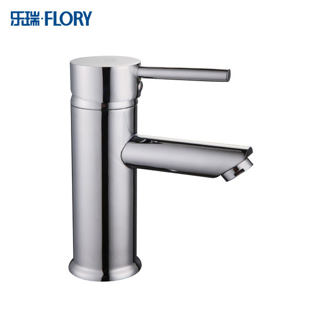 Hot sales deck-mounted single handle basin faucet hot and cold water mixer tap