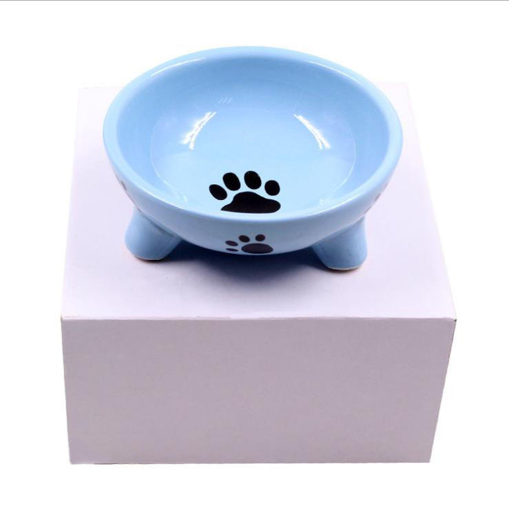 Wholesale Fashionable Environmental Friendly Pet Dog and Cat Feeding Ceramic Bowl