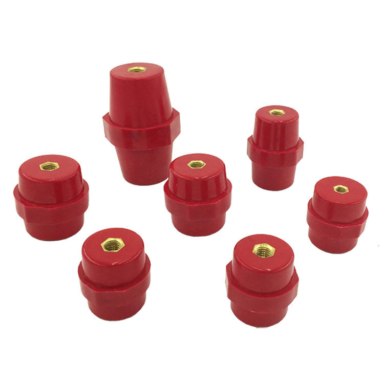YIKA SM35 Busbar Standoff Insulators Low Voltage Insulator For Distribution Box