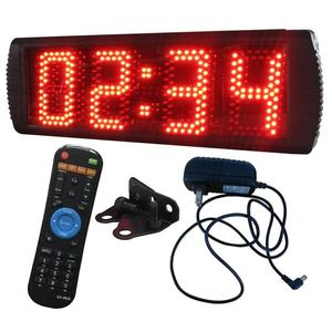 Indoor/Semi Outdoor LED Warna Merah Natal Festival Jam Hitung Mundur Melarikan Diri Game Countdown W/REMOTE