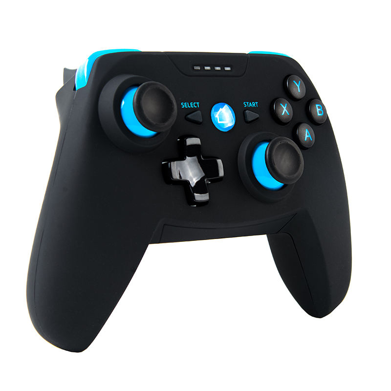 Bluetooth Wireless Gamepad Joystick with Shock for iOS/Android mobile phone Game Controller