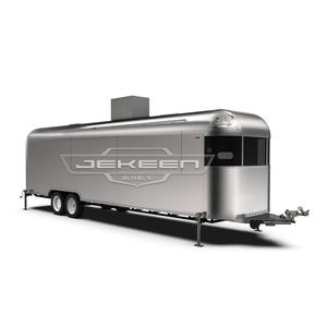 JEKEEN AirStream food truck camp kitchen trailer with sanck machine and equipment of Sott-8