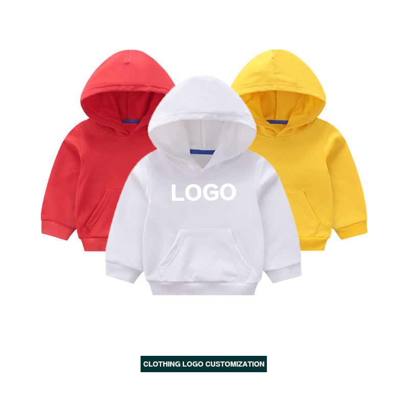 Kids high quality Hoodie Baby boys' Plain Blank Hoodies Children Hoodies for Boys and Girls