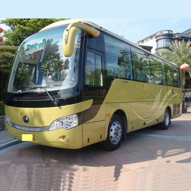 2015 Yutong Luxury 39 Seats Used Second Hand Diesel Fuel Coach Bus