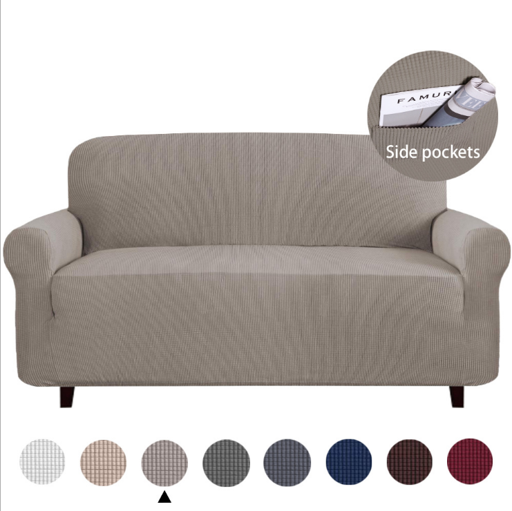 Household Decoration Protect Elastic Sofa Cover, Super Soft Stretch Material Wholesale Sofa Cover