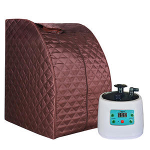 Smartmak BS-9004 Home use portable sauna mini wet steam sauna for sale with cheapest price