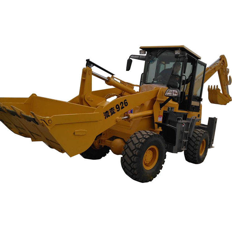 HW15-26 Backhoe loader wheel mounted excavator loading machine