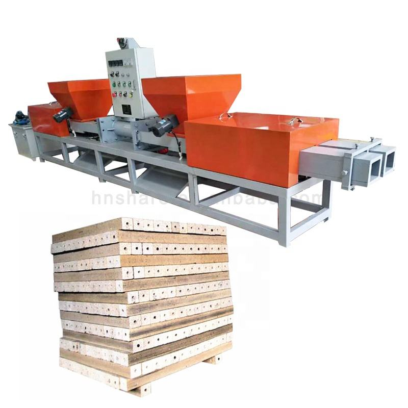 wood sawdust hot press block making machine plywood hot press machine