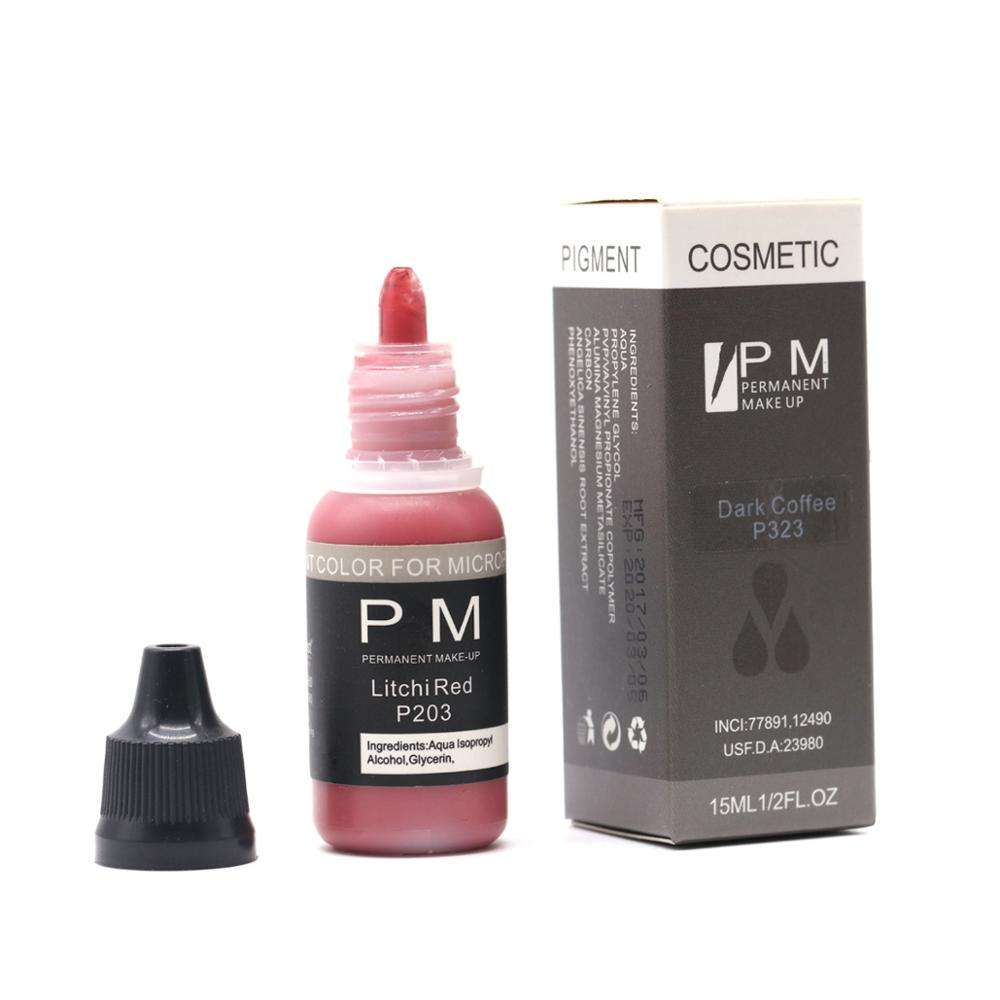 Permanent Makeup Pigment Ink for Micropigmentation Best Tattoo Ink