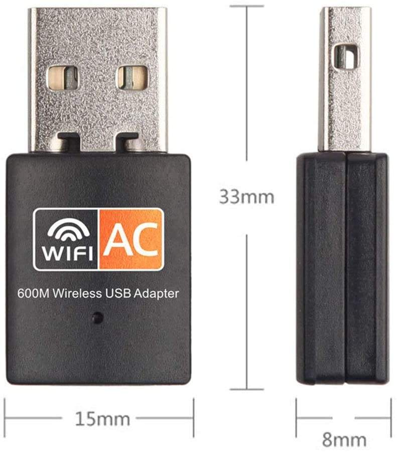 factory wholesale pro commercial usb wifi dongle 600Mbps 4g for pc