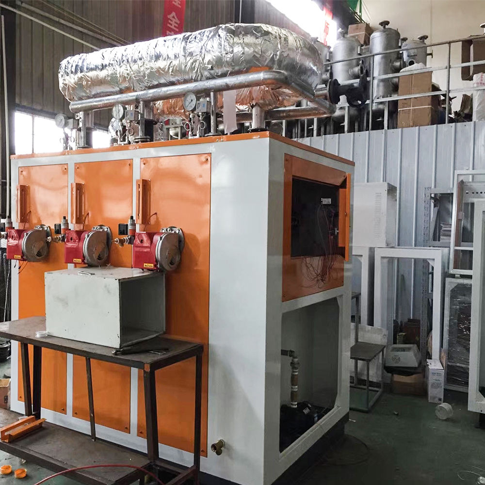 full automatic desel fuel gas boiler steam generator outdoor
