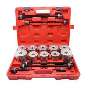 Factory price 27pcs universal press and pull sleeve kit, bush bearing removal Installation tool set