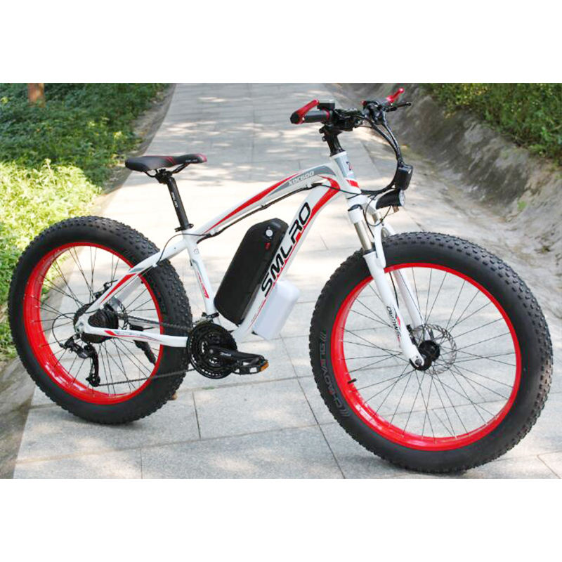 26 inch Electric Mountain Bike 21 Speed 48V 10AH/13AH Lithium Battery Electric Bicycle 350W/500W/750W/1000W for Adult