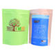 Wholesale Biodegradable Zipper Brown Kraft Paper Bags Tea/Food packaging stand up bag Ziplock Bag