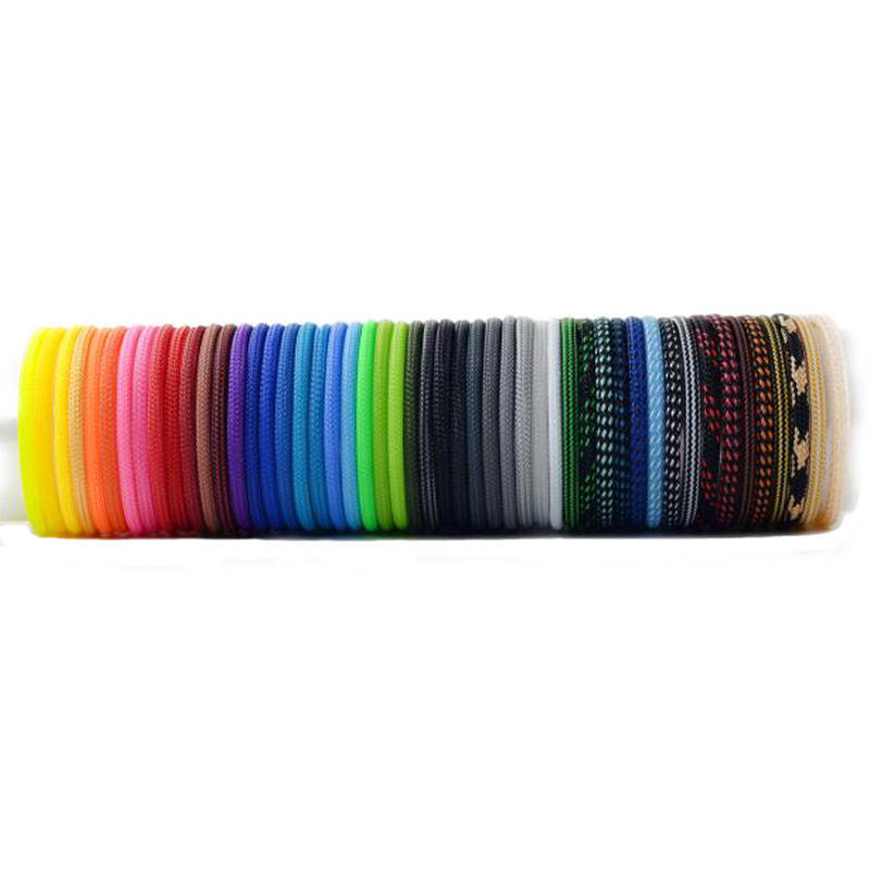 High density 2mm 4mm 6mm 8mm to 40mm pet expandable braided sleeve