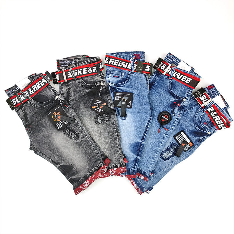 Factory Price boy Jeans Shorts Boys Denim Pants boys Short Denim Jeans