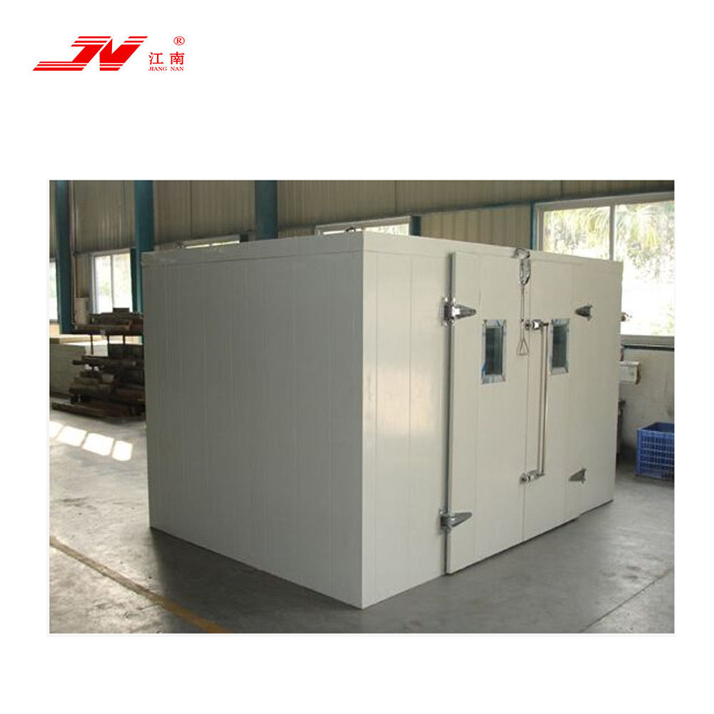 Cold storage equipment for frozen meat and fish