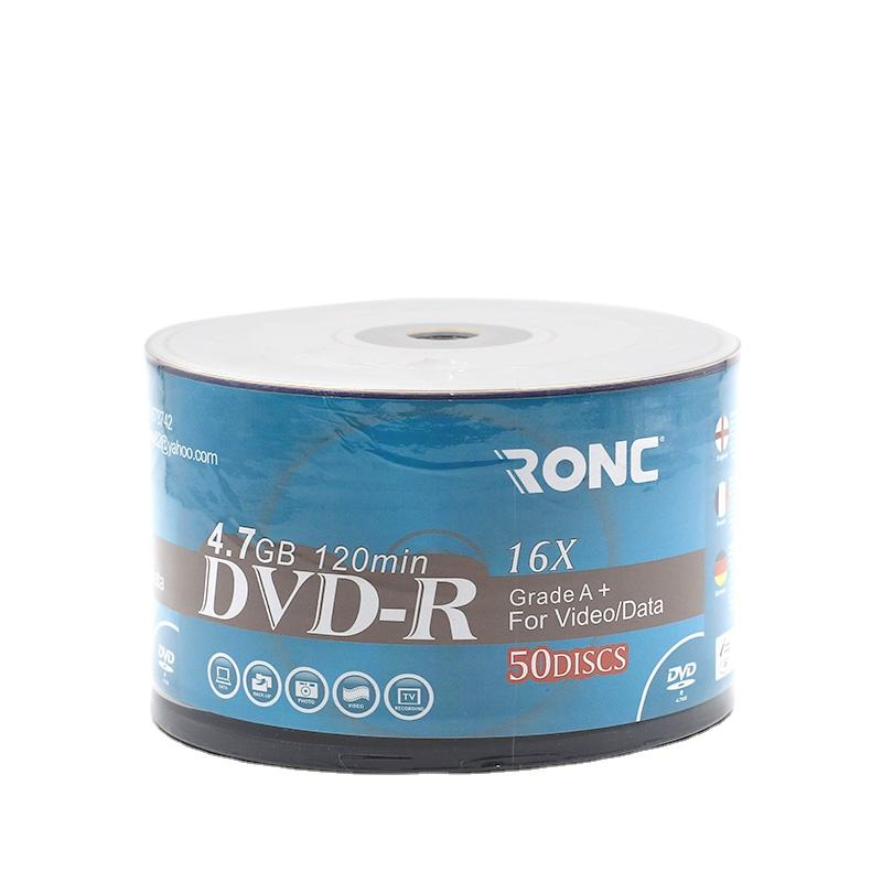 Shrink Wrap Single Layer Recordable Movie Burning 4.7gb 120min 16x <span class=keywords><strong>DVD</strong></span>-R Blank disc <span class=keywords><strong>DVD</strong></span> für Princo OEM