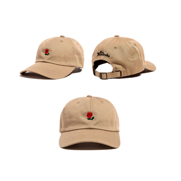 Design your own 6 panel cap dad hats custom embroidered baseball cap