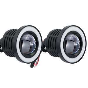 High Power 89MM 3.5inch COB Angel Eye 3200LM 10W Led Fog Light Day Running Light Decoration Light WG022
