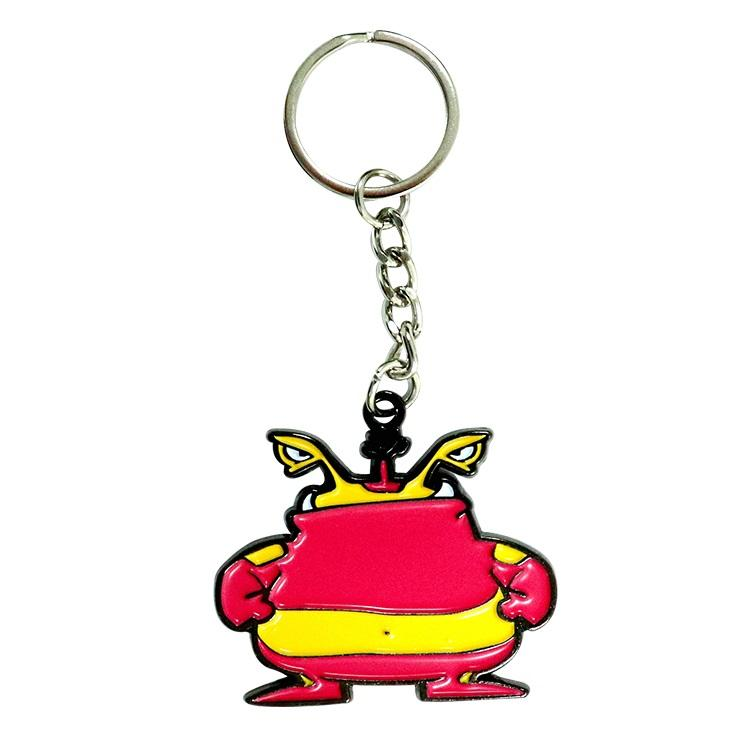 Manufacturer Wholesale Fashionable Promotion Metal Floating Key holder Long Shopping Cheap Key chain