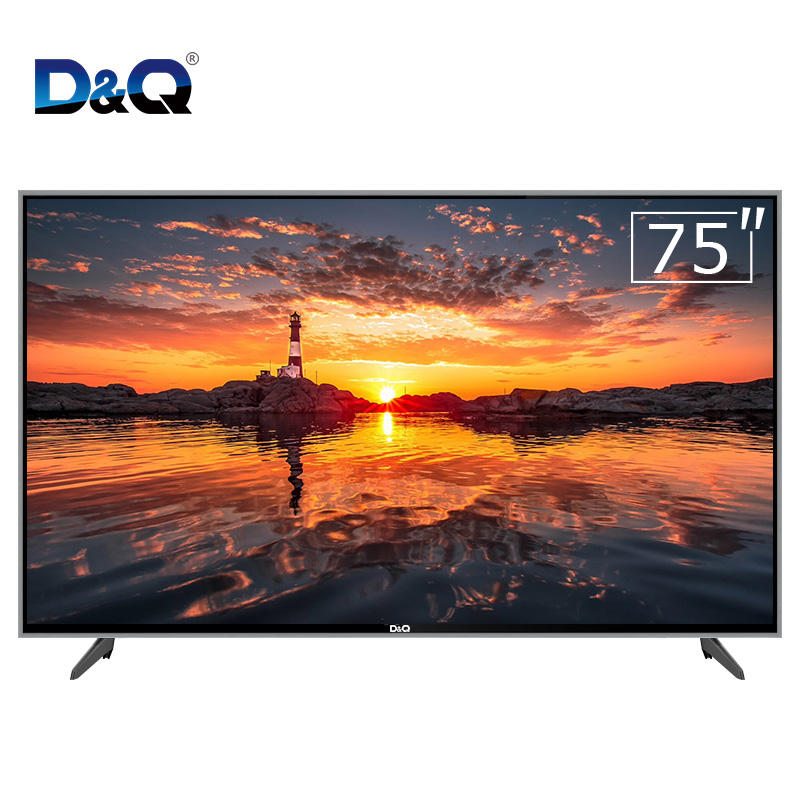 2020 New Big Screen Smart TV 75 Inch Flat Screen Manufacturer television 4k smart tv