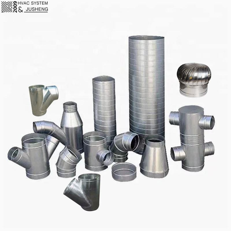 Galvanized Steel Spiral Round Duct Pipes