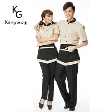 Factory Price Custom Design Hotel Reception Restaurant Waitress Uniform Dresses