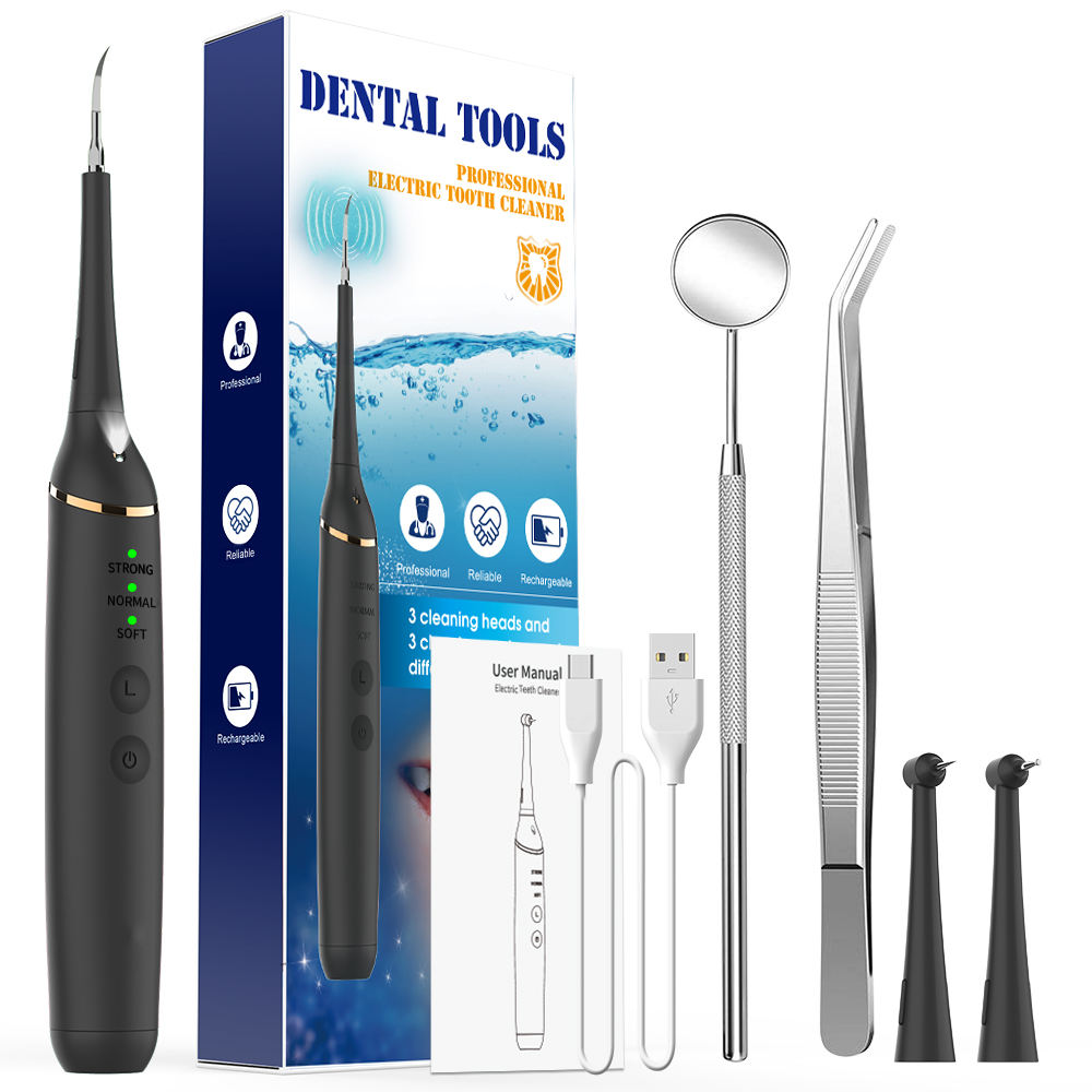 2020 Professional Reliable Rechargeable Electric Tooth Cleaner Dental Tool