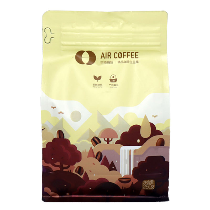 AIR COFFEE 10 Ounce French Roast bag Organic Ground Coffee beans