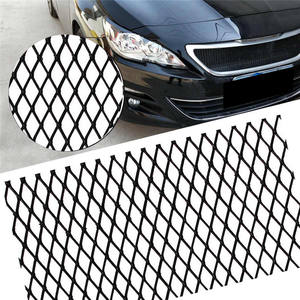 New DIY Customized Black Coated Honeycomb Expanded Aluminum Car Grill Mesh with High Quality