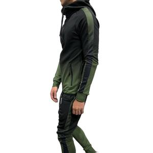 Wholesale high quality tracksuit custom men sports casual tracksuits