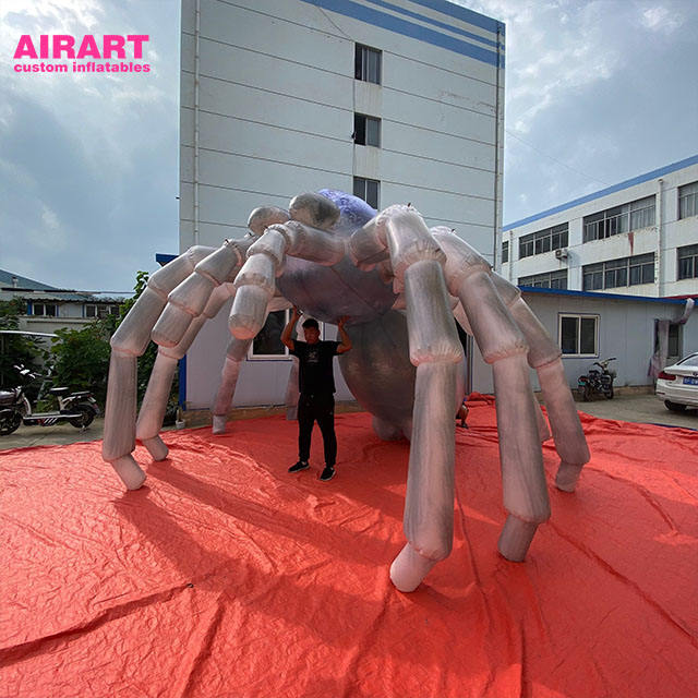 Hot sale discount halloween inflatables giant inflatable spider animated props