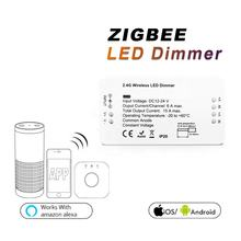 Amazon Alexa CE RoHS Wireless LED Strip Controller ZigBee Smart Home LED Controller Dimmer