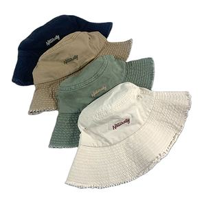 Own brand custom 100% cotton streetwear embroidery sun protection bucket hats caps