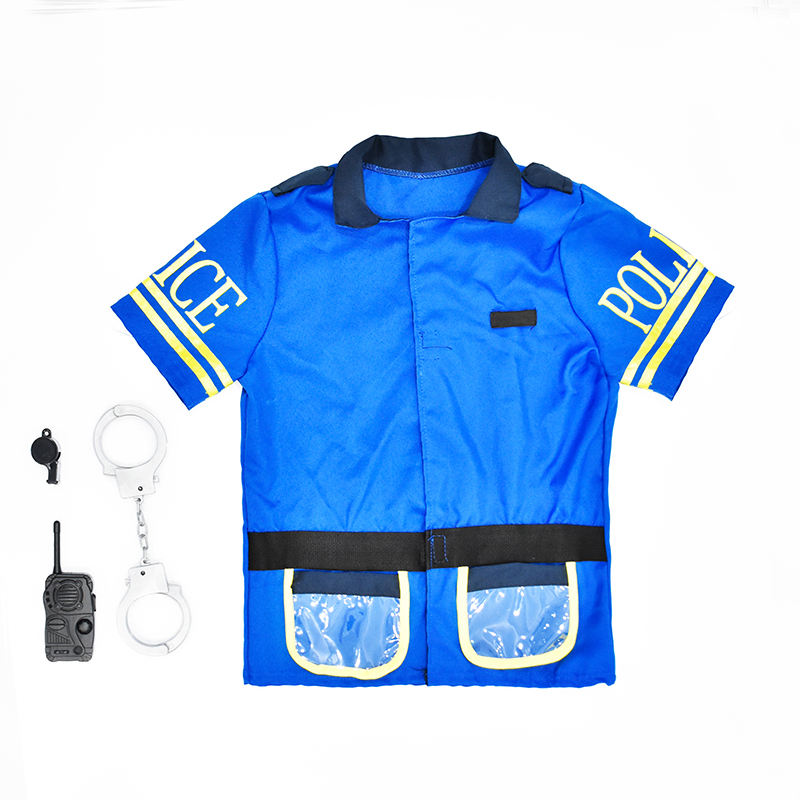 Halloween Uniform Polizei Outfits Party Cosplay <span class=keywords><strong>Kostüm</strong></span> Kinder Rollenspiel <span class=keywords><strong>Kostüm</strong></span> für Baby Boy