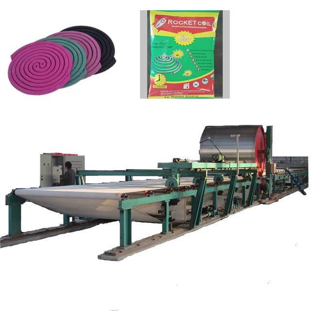 mosquito coil paper making machine mosquito-repellent incense production line